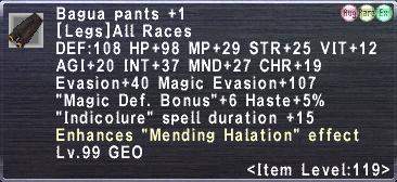 Bagua Pants Plus 1