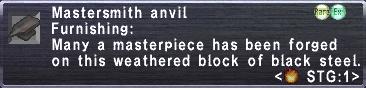 Mastersmith Anvil