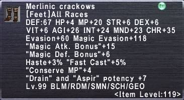 Merlinic Crackows