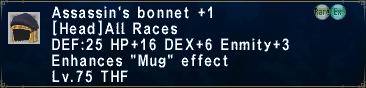 AssassinsBonnet +1