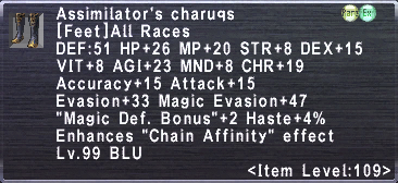 Assimilator's Charuqs
