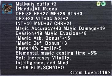 Mallquis Cuffs +2