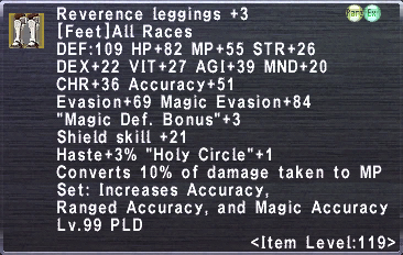 Reverence Leggings +3