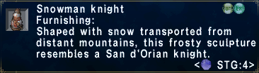 SnowmanKnight