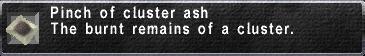 Cluster Ash