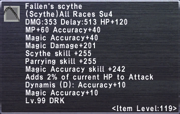 Fallen's Scythe
