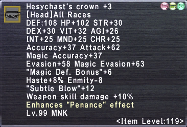 Hesychast's crown +3