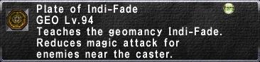 Indi-Fade