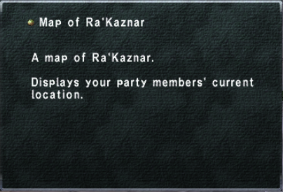Map of Ra'Kaznar