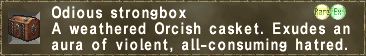 Odious strongbox