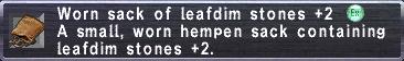 Worn Sack (LD+2)