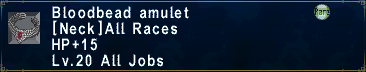Bloodbead Amulet
