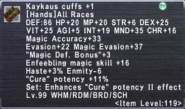 Kaykaus Cuffs +1