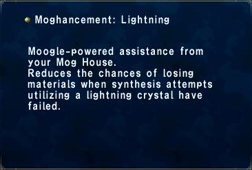 Moghancement Lightning