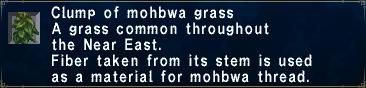 Mohbwagrass