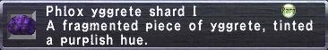 Phlox Yggrete Shard I