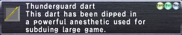 Thunderguard Dart