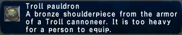TrollPauldron