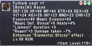 Futhark Coat Plus 1