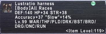 Lustratio Harness