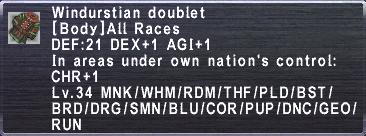 Windurstian Doublet