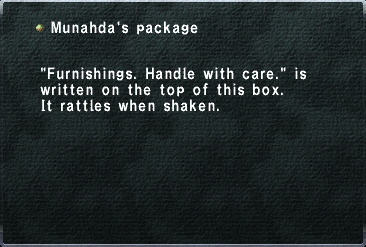 Munahda's package