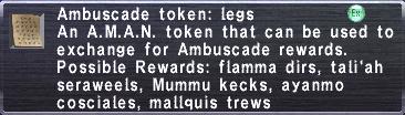 Ambuscade Token Legs