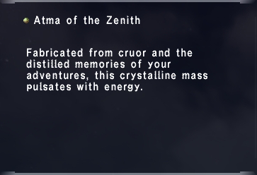 Atma of the Zenith