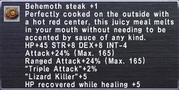 Behemoth Steak Plus 1