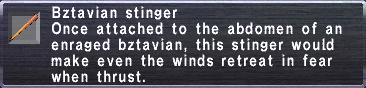 Bztavian Stinger