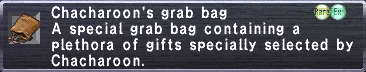 Chacharoon's Grab Bag