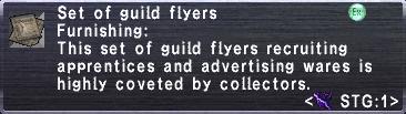 Set of Guild Flyers