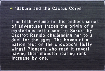 Cactus corps