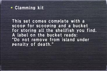 ClammingKit