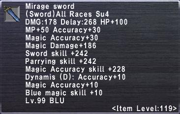 Mirage Sword