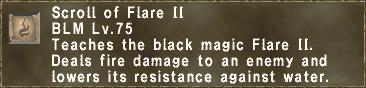 Scroll of Flare II