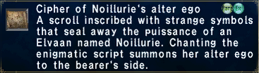 Cipher Noillurie
