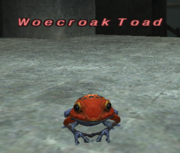Woecroak Toad