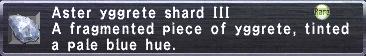 Aster Yggrete Shard III