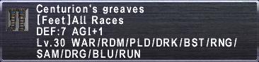 Centurion's Greaves