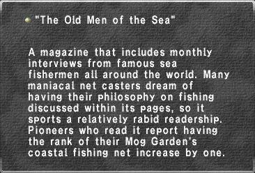 The Old Men of the Sea