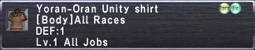 Yoran-Oran Unity Shirt