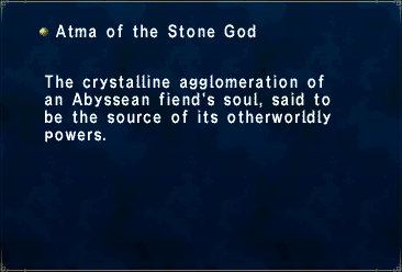 Atma of the Stone God