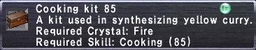 Cooking Kit 85