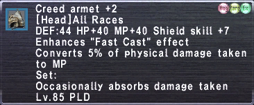 Creed Armet Plus 2