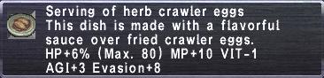 Herb Crawler Eggs