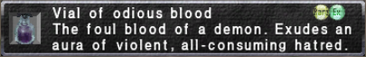Odious Blood