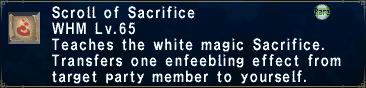 Scroll of Sacrifice
