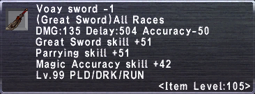 Voay Sword -1