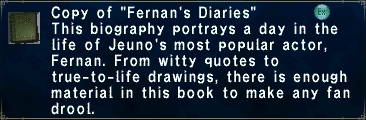 Fernan's Diaries